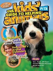 Free Magazine Kids Guide to Helping Animals