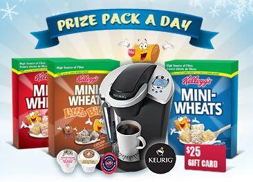 kelloggs mini wheats contest