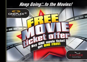 movie tickets from energizer