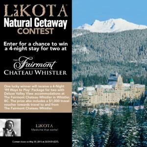 lakota natural getaway contes