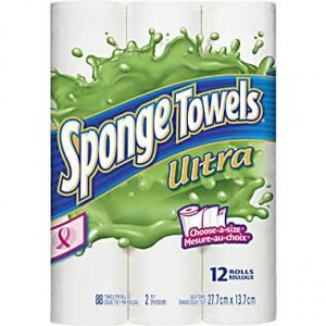 Coupon: Save $1.00 Sponge Towels