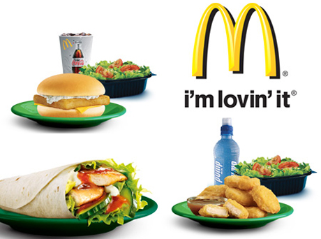 McDonald's healthy options menu