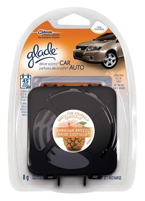 glade scents car freshener