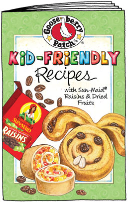 sunmaid kid friendly recipe book