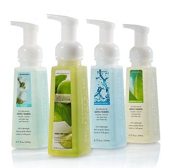 Free Antibacterial Hand Soap With 10 Purchase At Bath