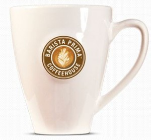 baristaprina coffee cup