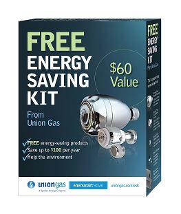 Free union gas energy saving kit for Energy efficiency kit