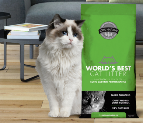 worlds best cat litter contest