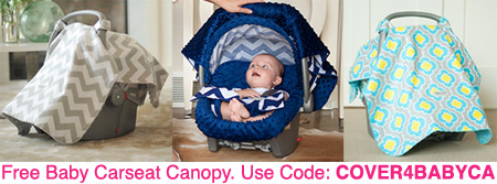 car seat canopy promotional code