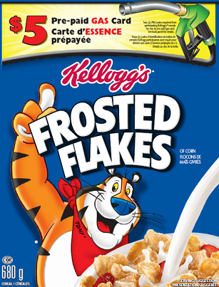 kelloggs gas promotion