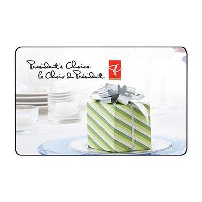 Win 2 500 Presidents Choice Gift Card