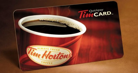 Enter To Win 300 Tim Hortons Gift Card