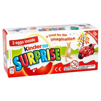 free 3 pack kinder surprise eggs giveaway. Black Bedroom Furniture Sets. Home Design Ideas
