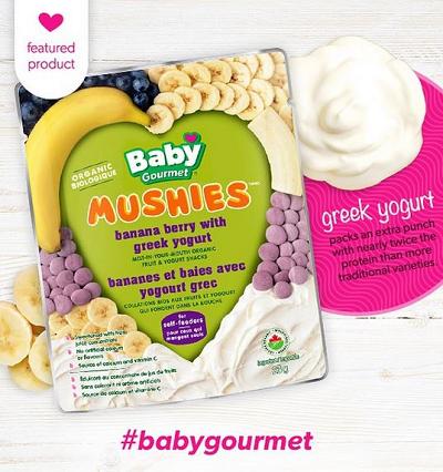 Free Baby Gourmet Mushies Giveaway