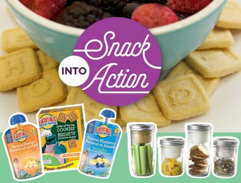 snack into action prize pack