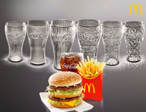 coke glasses at mcdonalds2