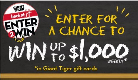 giant tiger contest