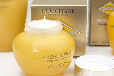 LOccitane-Divine-Cream-with-Lid-off-and-Cream-in-Jar