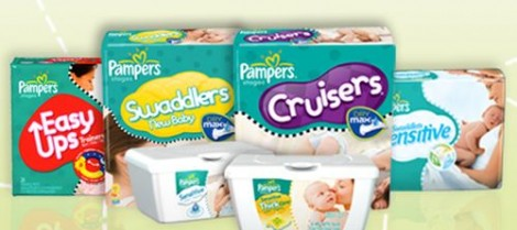 Pampers-Diapers-Wipes