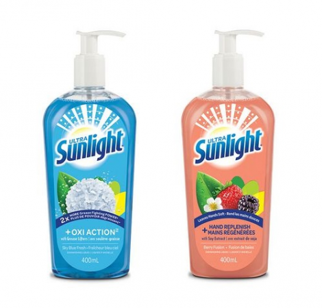 sunlight dish soap pump