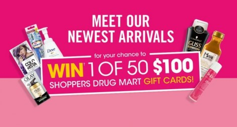 shoppers drug mart contest