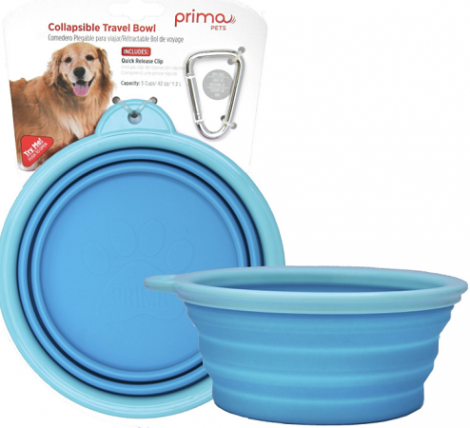 prima collapsible pet bowl