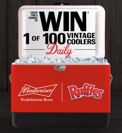 Win FREE Vintage Cooler!